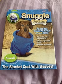 Snuggie for Dogs - Small/Blue