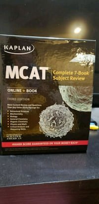 Kaplan MCAT complete 7 book subject review