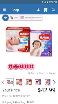 Huggies #3 price regular is 42.99 Manassas, 20110
