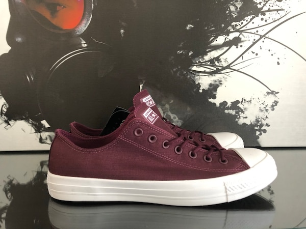 4f89390eb67 Used MENS 12 CONVERSE CHUCK TAYLOR DARK SANGRIA | NEW for sale in ...
