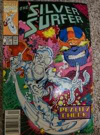 """""""The Silver Surfer"""" Old Comic Book"""