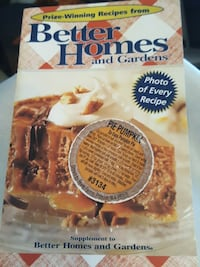 Better Homes and Gardens cookbook Midland, 79701