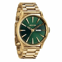 Nixon Sentry SS - Gold / Green Sunray Oslo, 0154