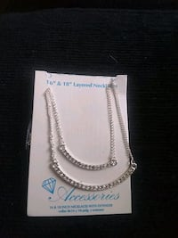 Layered necklace 16 inch and 18 inch Lincoln, 68503