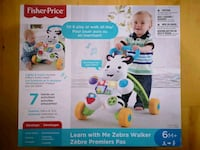 Fisher-Price Learn with me Zebra walker Montreal, H1E 2E7