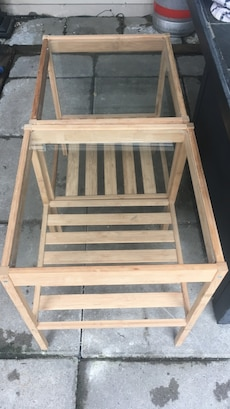 2 ikea tables for $15