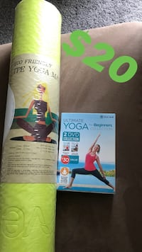 Yoga mat and dvd Hagerstown, 21740