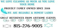 Plainfield Home Cleaning-I LOVE Cleaning-Low Rates-Hard working mom- Joliet, 60586