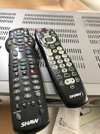 Shaw HD PVR box with 2 remote **no power cable