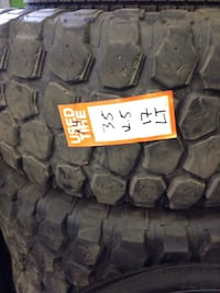 !RARE! set of used Ironman All Country M/T Mud Tires 35/12.5/17 LT Toronto, M1P 2B3