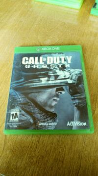 Call of Duty Ghosts Xbox One Giroux, R0A 0N0