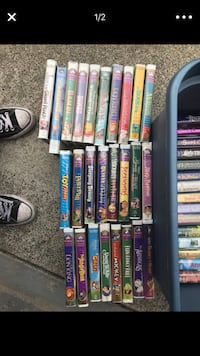 Assortment of slightly used Disney VHS movies Olympia, 98501