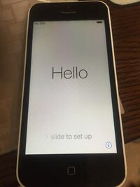White iPhone 5c perfect condition Holly Springs, 27540