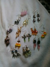 Homemade earrings