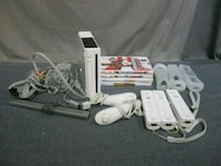 white Nintendo Wii console with controllers and ga Lake Ridge, 22192