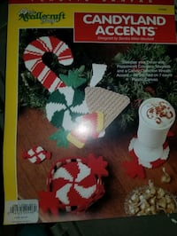 Holiday shape plastic canvas
