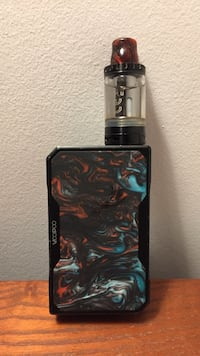 Voopoo drad vape mode with aspire tank