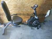 black and gray stationary bike West Puente Valley, 91746