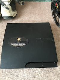 Black sony ps3 slim console Barrie, L4N
