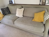 Large green down filled sofa  Summerville, 29485