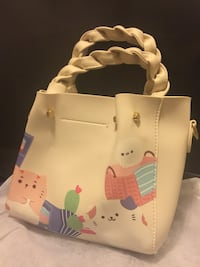 Brand new White and pink hello kitty leather tote bag Newcastle Upon Tyne, NE5 5LP