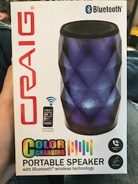 blue Craig Bluetooth color changing portable speaker box Sparks, 89441