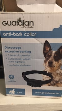 Guardian by petsafe anti-bark collar box need gone asking $15 never been used Ballston Spa, 12020