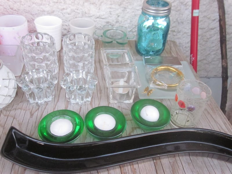 Lot of 27 Candle and Tealight Candle Holders   922138e7-c79a-47b6-bf2d-dd033eb2df57
