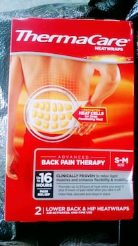 Thermacare back pain relief