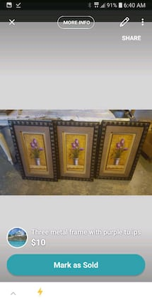 set of three pictures