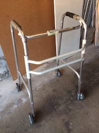 Walker, aluminum, foldable, lightweight, with 4 wheels,  $55  Mississauga