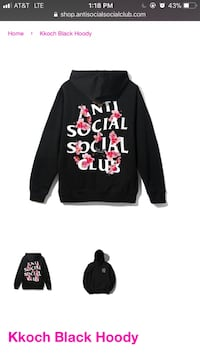 black and pink Minnie Mouse pullover hoodie Rockville, 20850