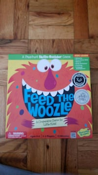 Feed the Woozle childrens game Alexandria, 22307