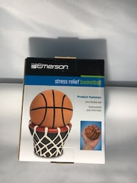 Stress relief basketball with stand Hanover, 21076