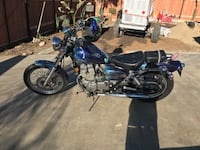 Custom painted motorcycle for sale or trade Grand Terrace, 92313