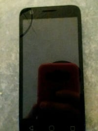 black android smartphone with red case Morganton, 28655