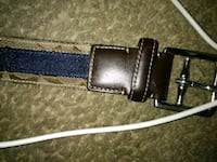 black leather belt with silver buckle Tucson, 85706