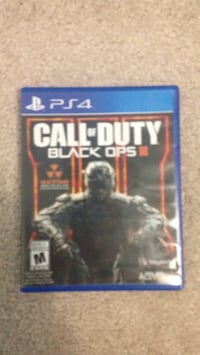 Call of duty black ops 3 ps4 game case Ajax, L1Z 0K8