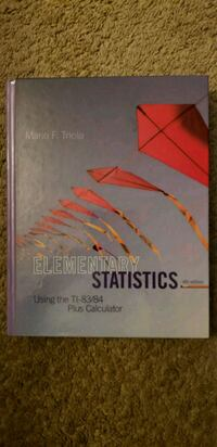 Statistics book Brooklyn Park, 55429