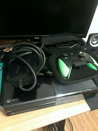 black Xbox One console with controller Old Bridge Township, 08879