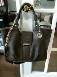 AUTHENTIC DKNY Leather Python Handbag Brampton, L7A 2N6