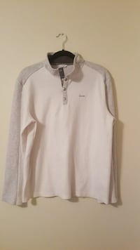 white and grey buttoned long sleeve shirt Asheville, 28805