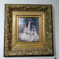 Antique Reproduction, ornate thick frame Toronto, M2H