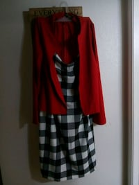 red and black plaid long-sleeved dress Vancouver, 98665