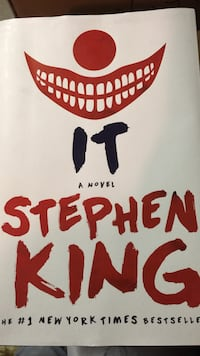 Hardcover edition of it by stephen king