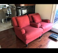 Two Red Sofas - Pottery Barn Danbury, 06811