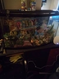 Fishtank and water filter, pump included