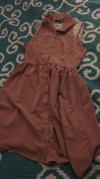 Brown sleeveless dress. Jacksonville, 28546