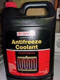 Red Toyota Antifreeze Coolant (1 Gallon) - Toyota  Silver Spring, 20906