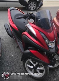 Yamaha tri city 125 cc 2016 model